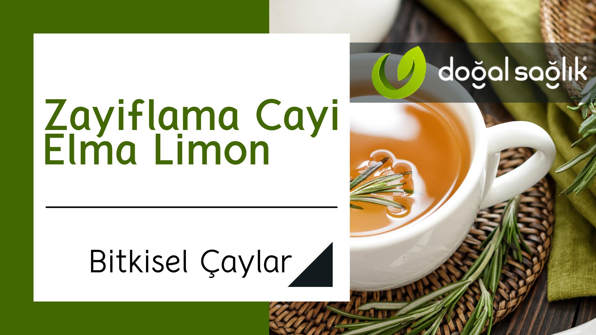 Zayıflama Çayı Elma Limon