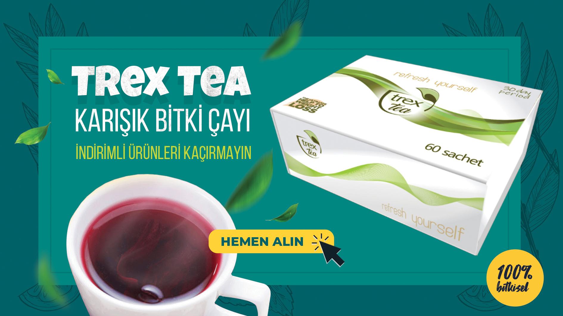 Trex Tea Karışık Bitki Çayı