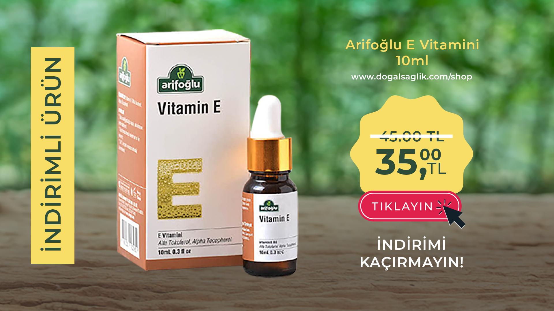 Arifoglu Vitamin E